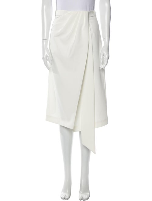 Sally LaPointe 2019 Midi Length Skirt White