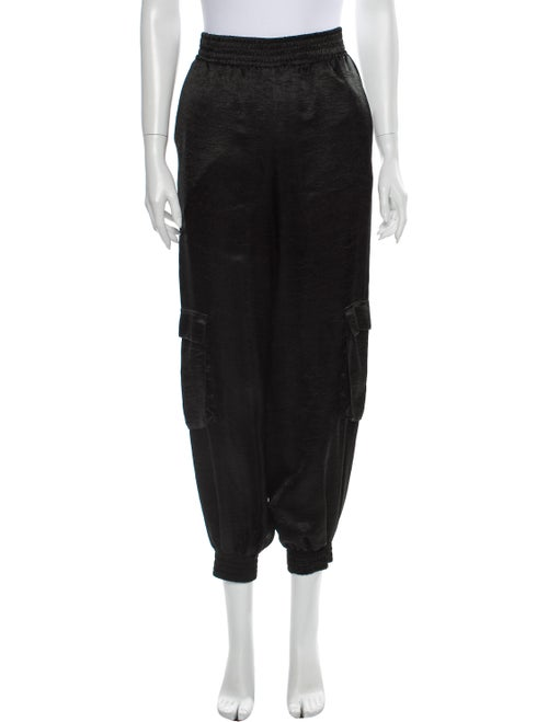 Sally LaPointe Skinny Leg Pants Black