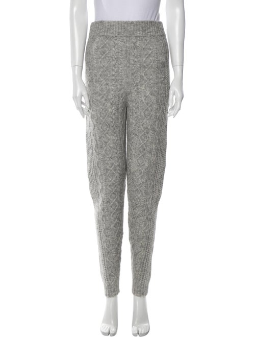 Sally LaPointe Skinny Leg Pants Grey