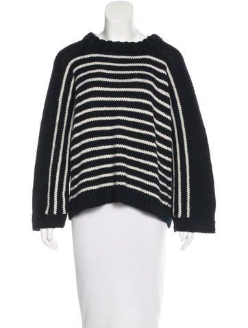 Smythe Alpaca Striped Sweater w/ Tags None