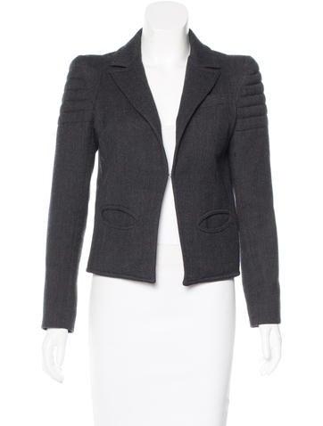 Smythe Wool Structured Blazer None