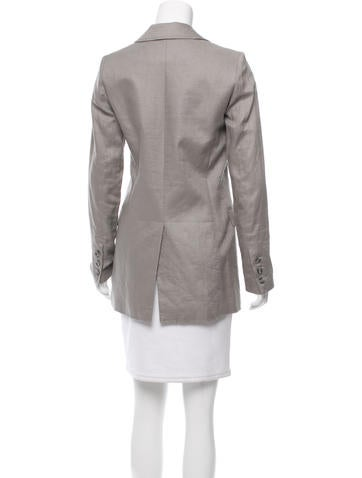 Linen Long Blazer