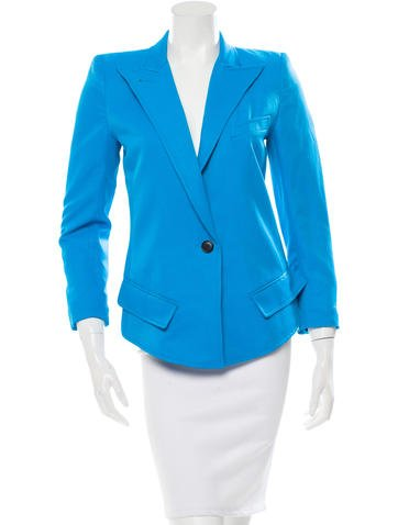 Smythe Structured Single-Button Blazer w/ Tags None