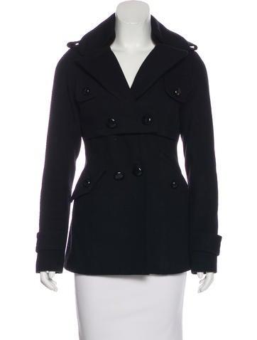 Smythe Wool Short Coat None
