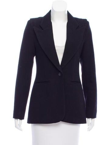 Smythe Tailored Wool Blazer None