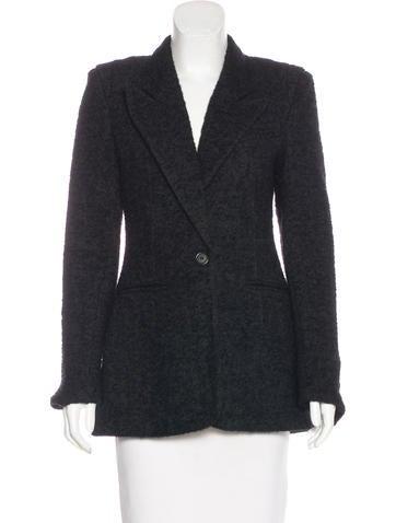 Smythe Structured Wool Blazer None