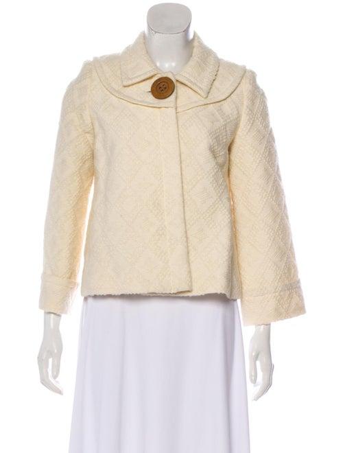 Smythe Embroidered Short Coat