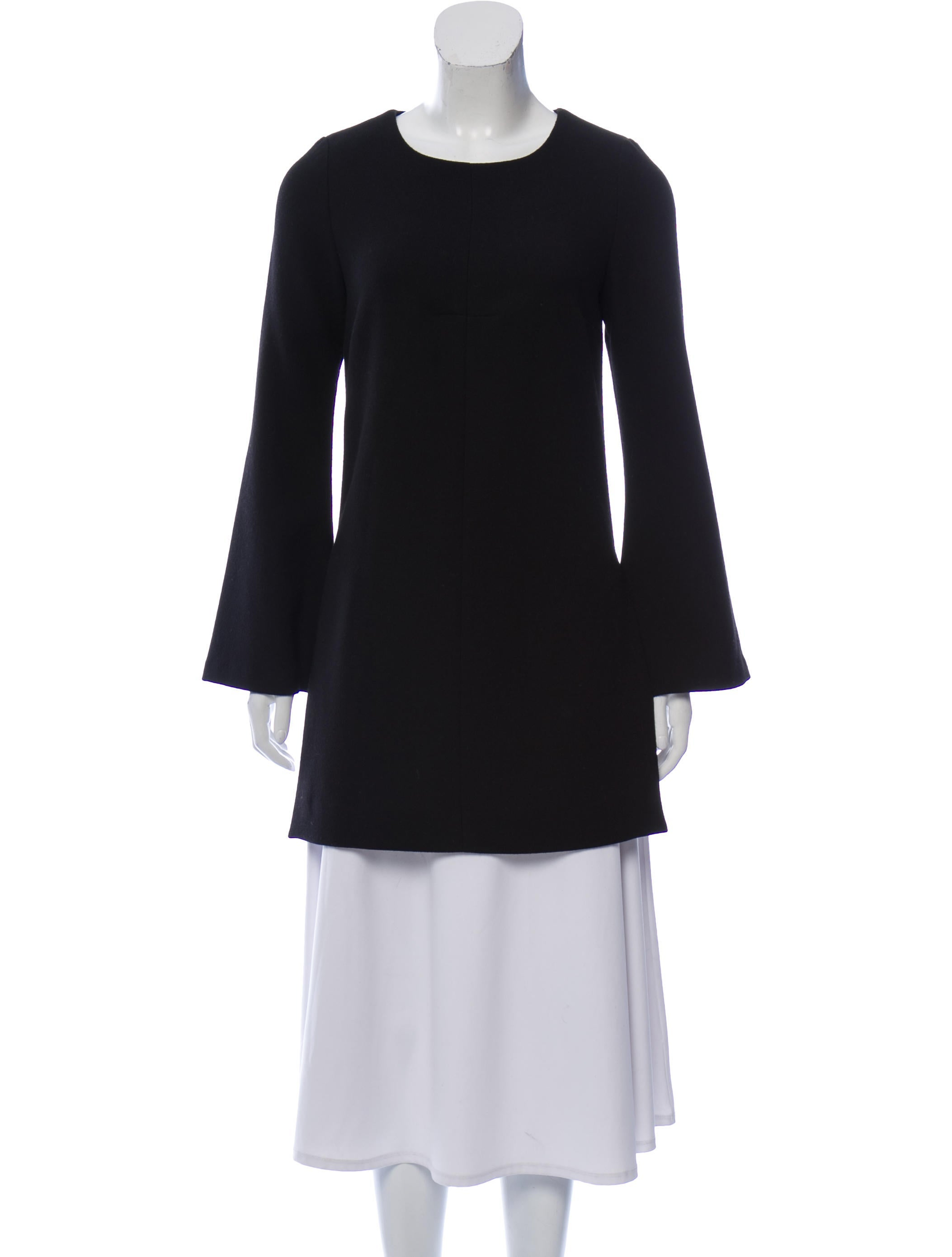 Smythe Wool Scoop Neck Tunic w/ Tags - Clothing -           SMY23954 | The RealReal