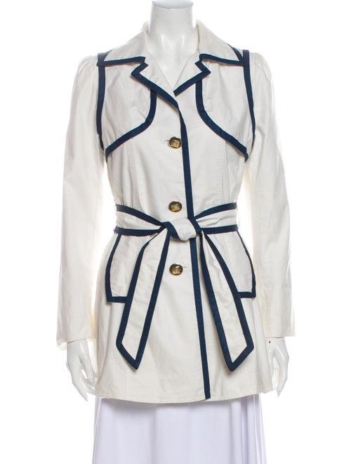 Smythe Trench Coat White