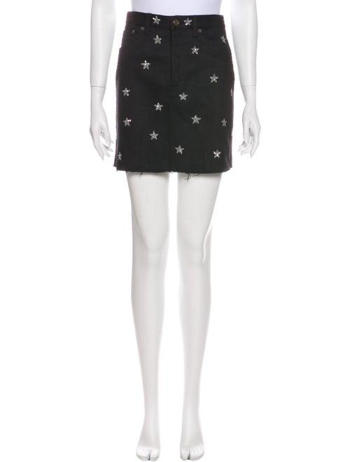 Saint Laurent 2016 Mini Skirt Black