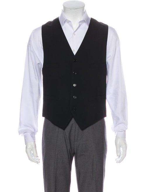 Saint Laurent Virgin Wool Suit Vest w/ Tags Wool