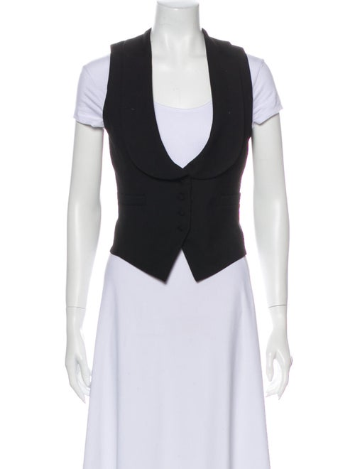 Saint Laurent Wool Vest Wool