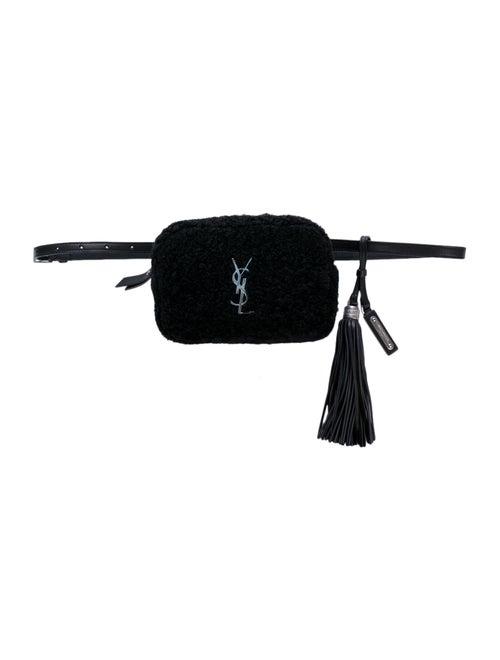 Saint Laurent Lou Belt Bag Black