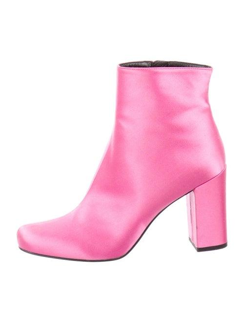 Saint Laurent Boots Pink