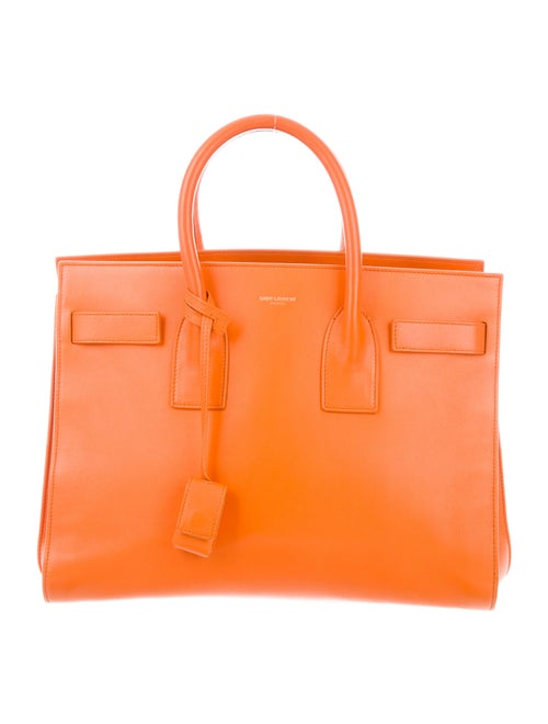 Saint Laurent Small Sac de Jour Orange