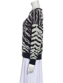 Saint Laurent 2015 Printed Sweater