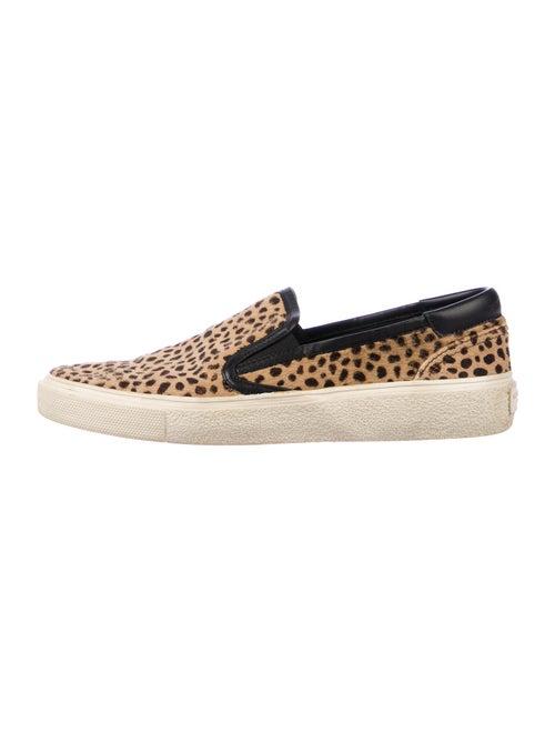 Saint Laurent Babycat Skate 20 Leopard Sneakers Le