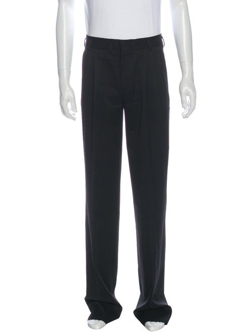 Saint Laurent Pleated Dress Pants Black