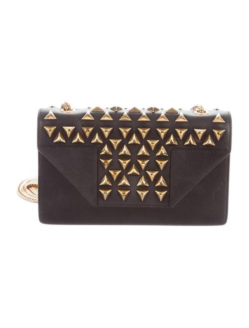 Saint Laurent Small Studded Betty Bag Black