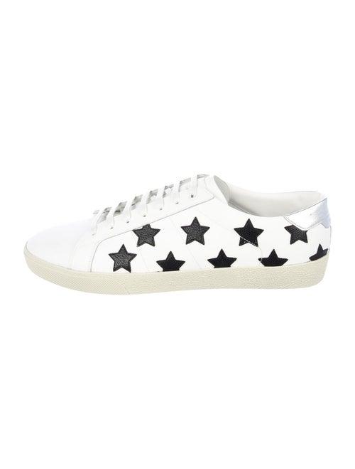 Saint Laurent Court Classic Sneakers White
