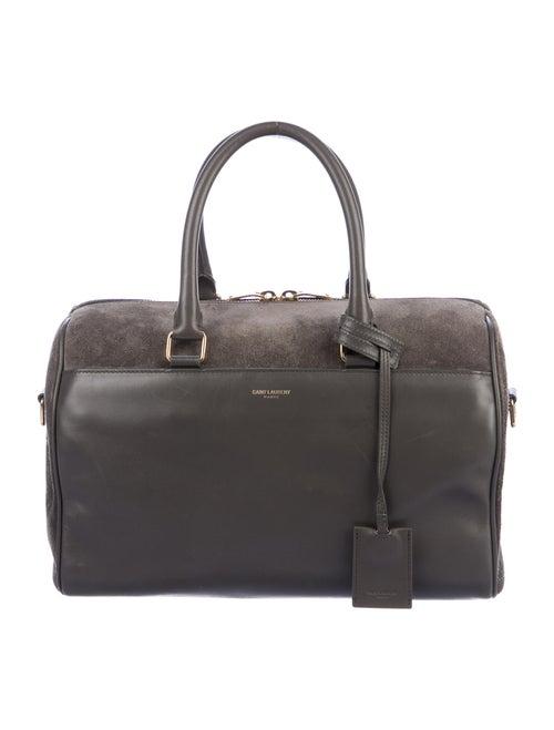 Saint Laurent Classic Duffle 6 Bag Grey