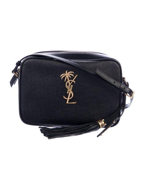 Saint Laurent Monogramme Palm Lou Crossbody Bag Bl