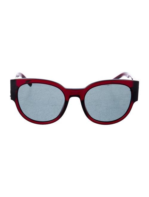 Saint Laurent Tinted Round Sunglasses