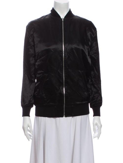 Saint Laurent Bomber Jacket Black