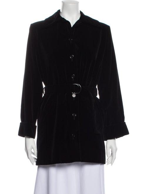 Saint Laurent Coat Black