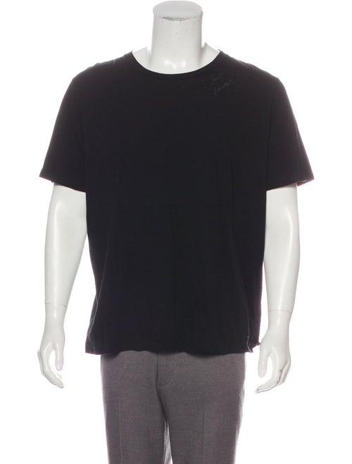 Saint Laurent Signature Print T-Shirt black