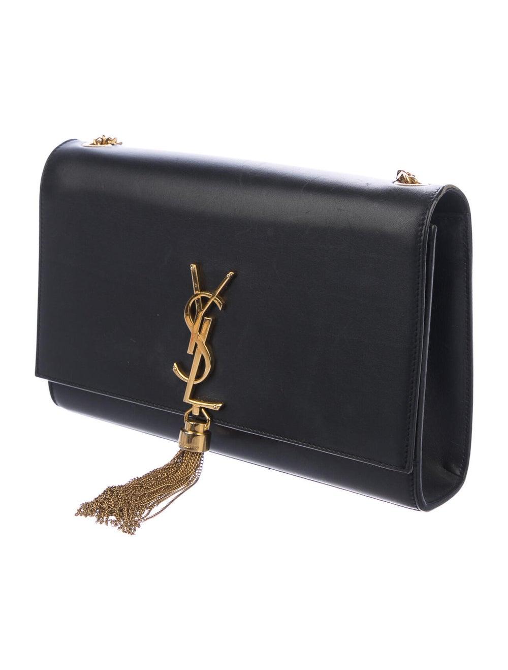 Saint Laurent Kate Tassel Small Bag Black - image 3