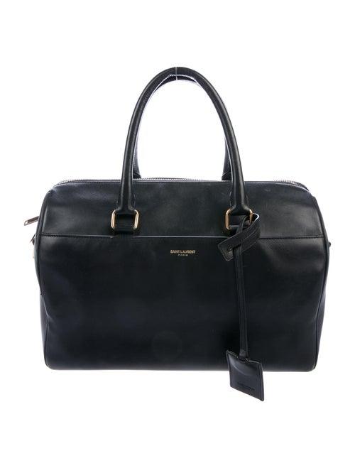 Saint Laurent Classic Duffle 12 Bag Black