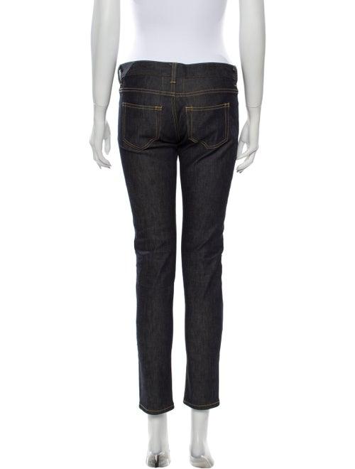 Saint Laurent Mid-Rise Skinny Leg Jeans
