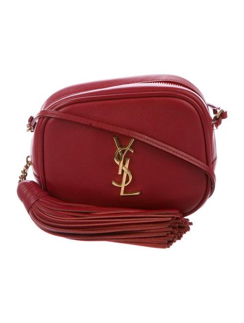 Saint Laurent Monogram Blogger Bag Red