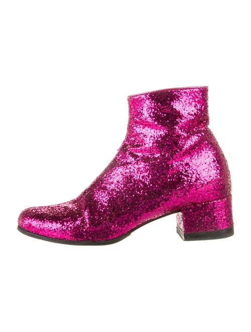Saint Laurent Boots Pink