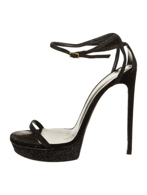 Saint Laurent Sandals Black