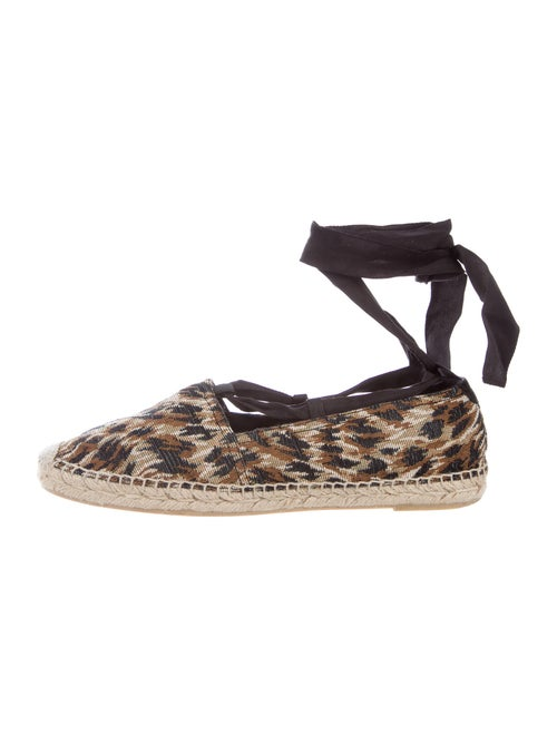 Saint Laurent Printed Espadrilles