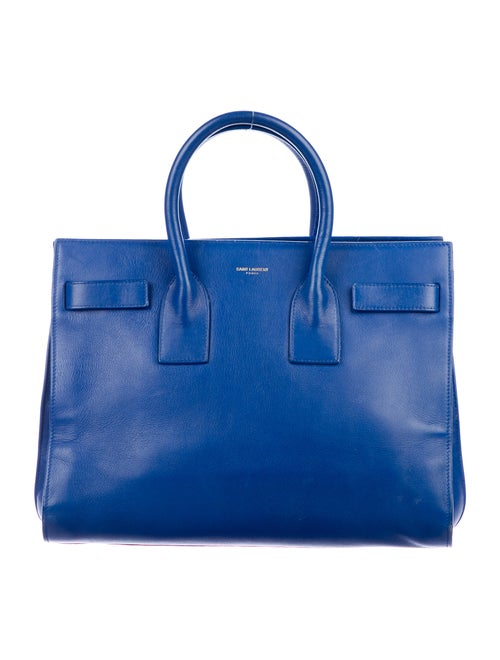 Saint Laurent Sac de Jour Blue