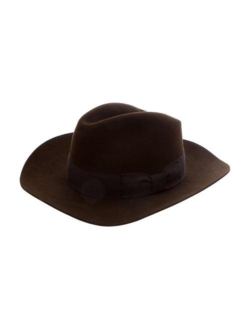 Saint Laurent Felt Fedora Hat