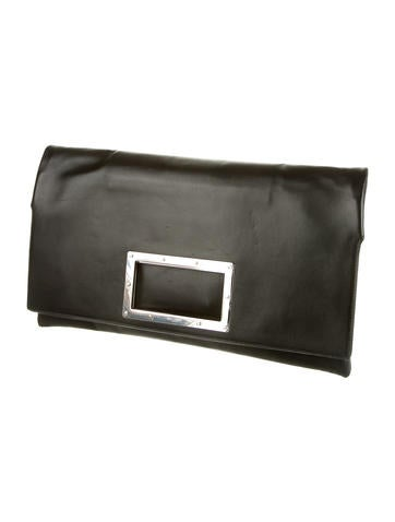 Square Handle Convertible Clutch
