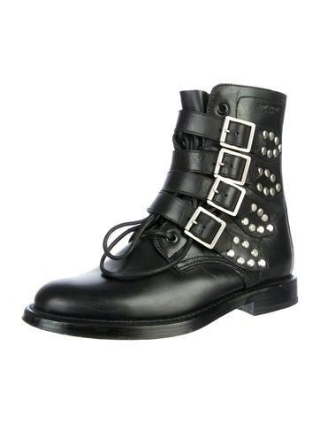 064029d8ccf Saint Laurent Ranger Combat Boots - Shoes - SNT20817 | The RealReal