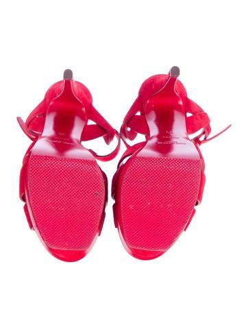 Suede Tribute Sandals