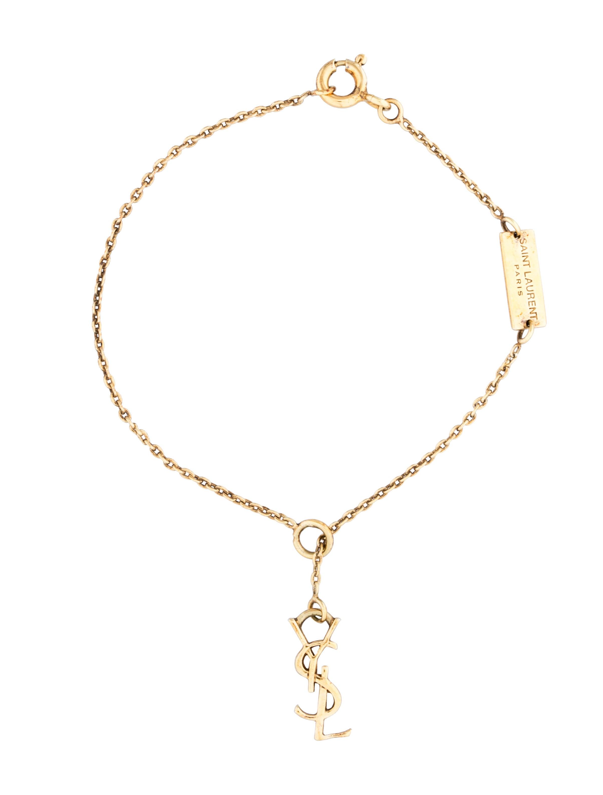 Signature Monogram Charm Bracelet