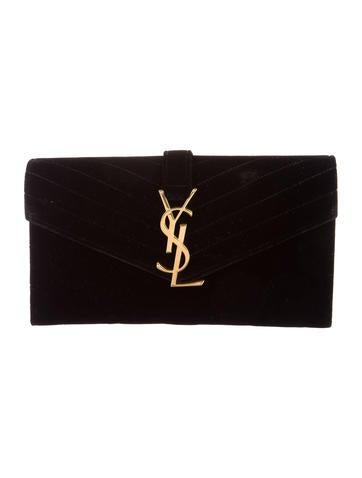 Monogram Classic Velvet Clutch