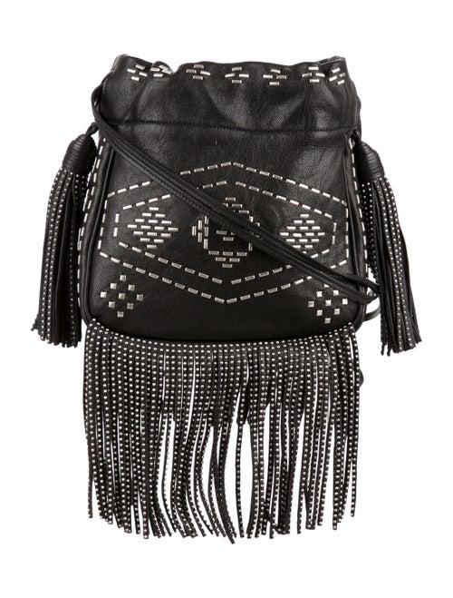 Helena Studded Fringe Crossbody Bag