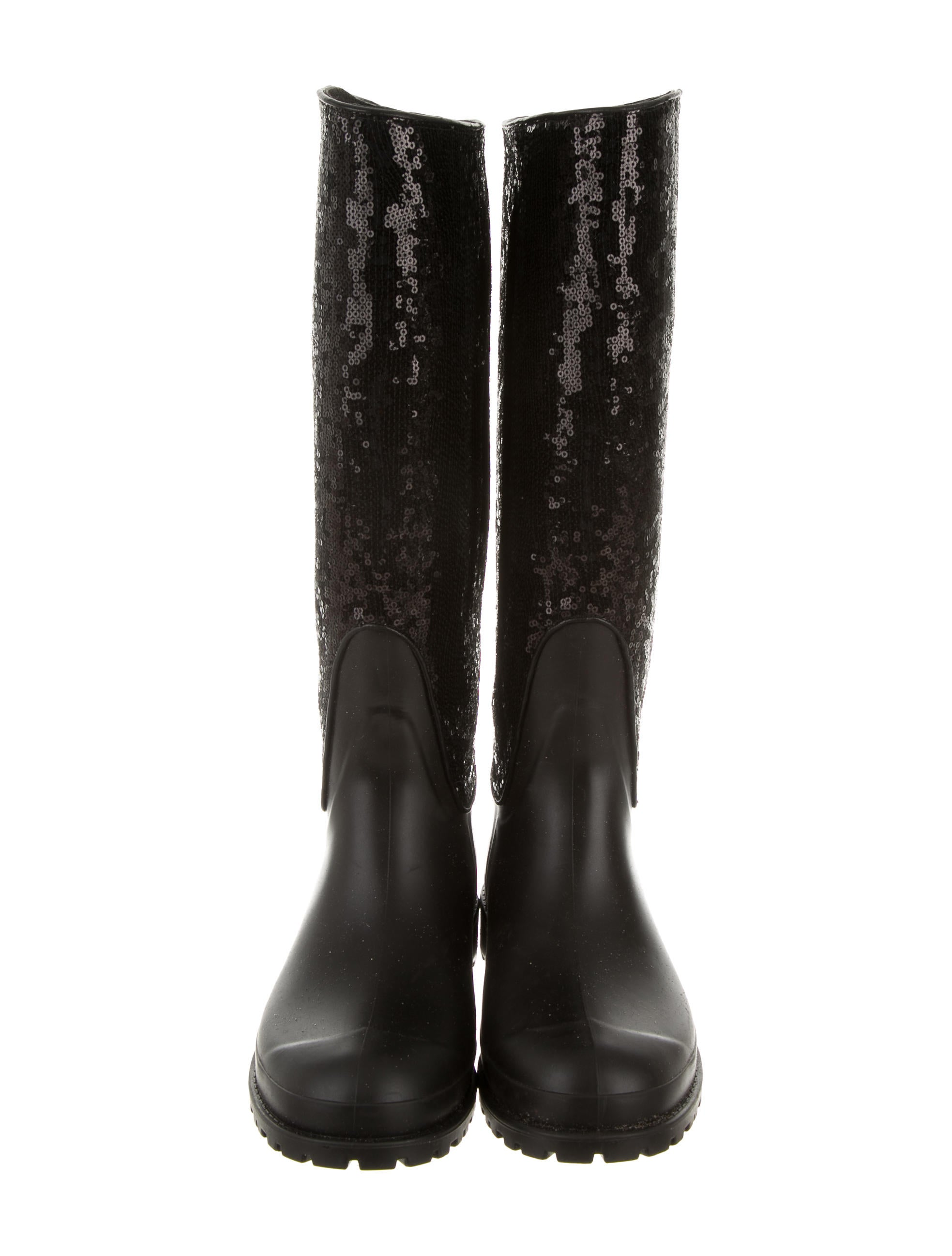 laurent sequined knee high boots shoes
