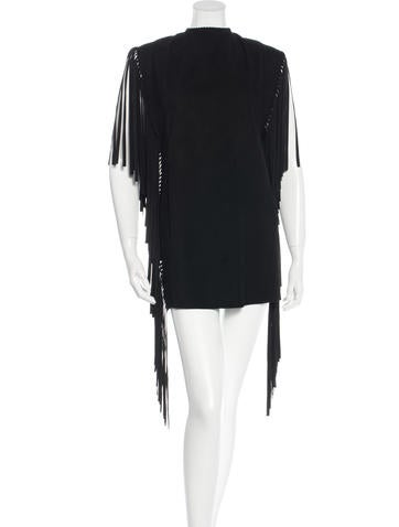 Spring 2015 Fringe Suede Dress w/ Tags