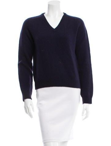 Saint Laurent Wool & Cashmere-Blend Sweater None