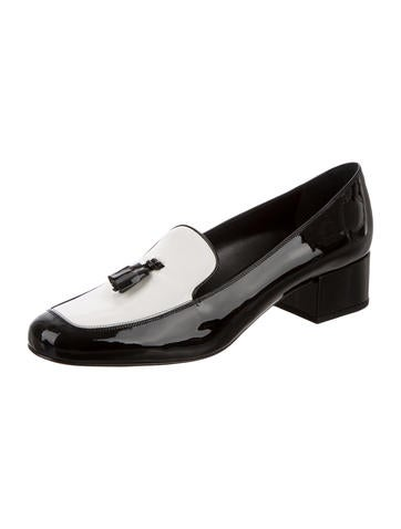 Patent Leather Tassel Loafers w/ Tags