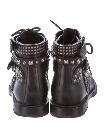 Studded Ranger Ankle Boots